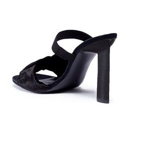 MERCEDES CASTILLO Shoes - Mercedes Castillo Lynn ruched velvet band sandals